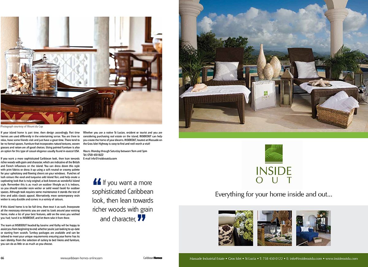 In The Press | Inside Out St. Lucia