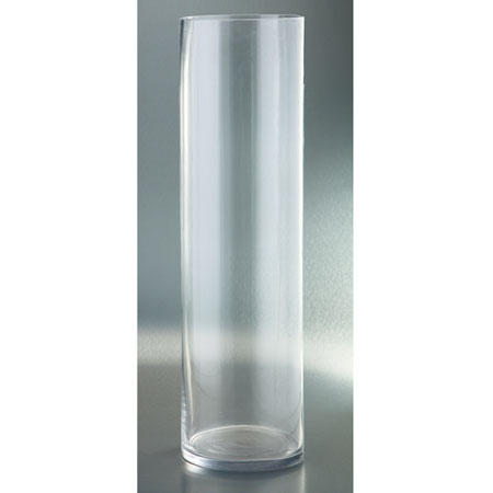 Clear Glass Vase Inside Out St Lucia