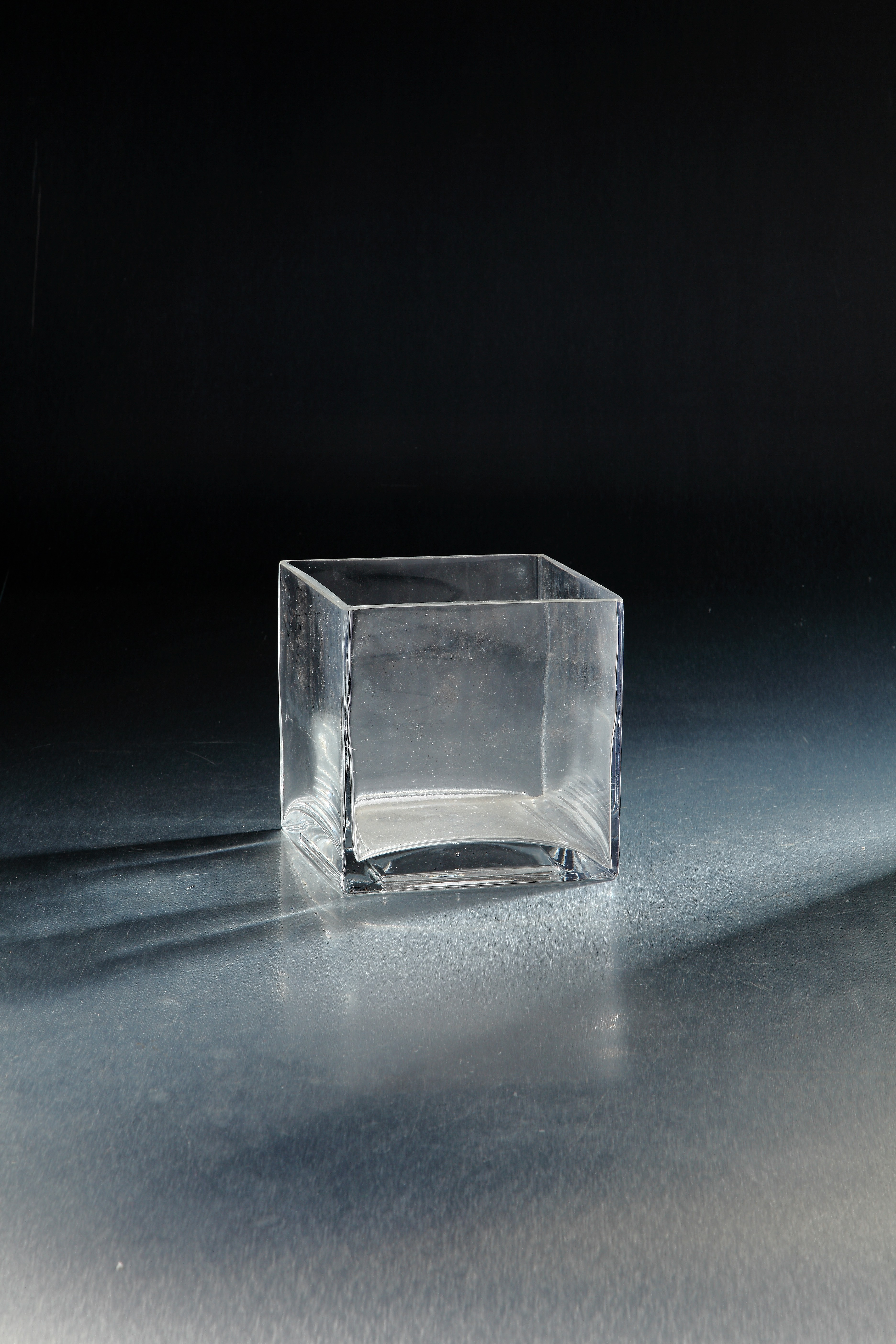 vase large wide extra glass transparent clear