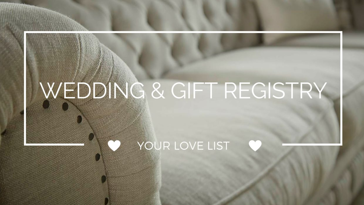 Your Love List...GIFT REGISTRY (1)